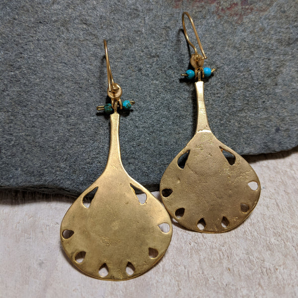 back of decanter earrings