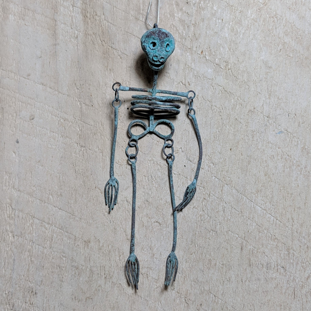 Large Oxidized Skeleton