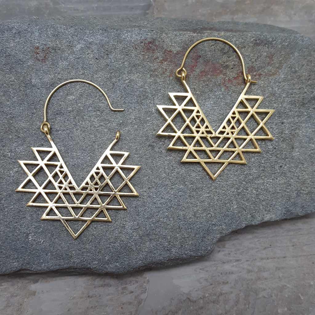 Cryptonite Earrings