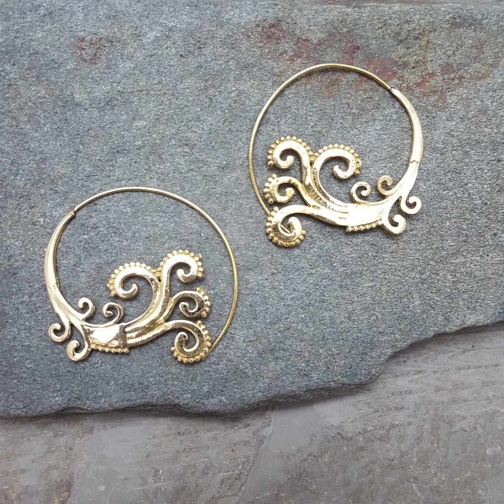 Sea Smoke Earrings