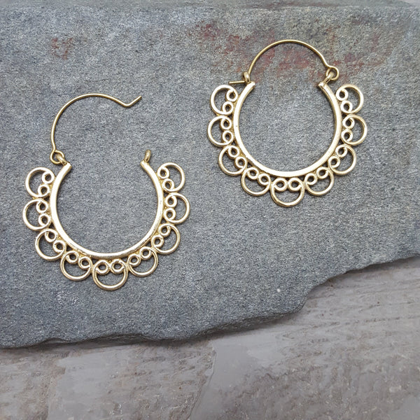 Curlicue Sue Earrings