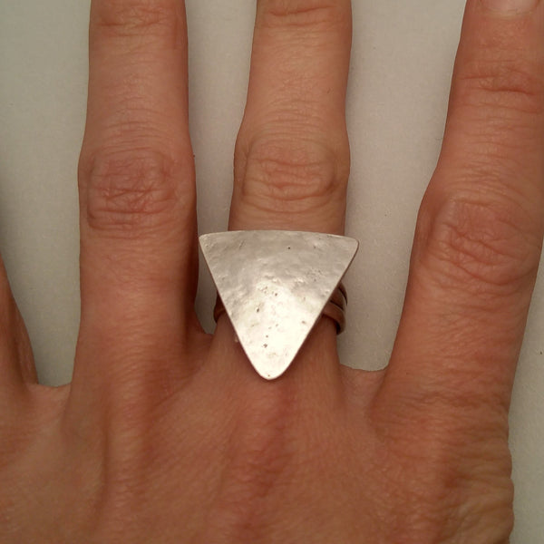 Triangle Ring on model
