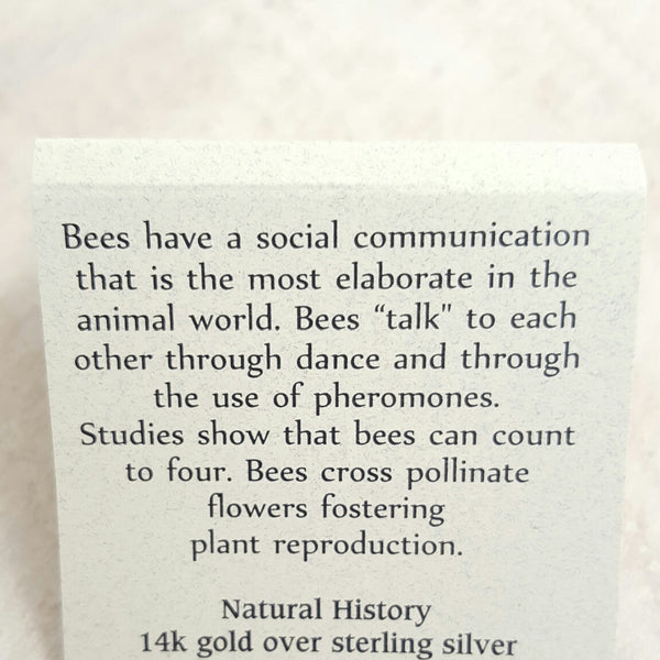 Back of Bee card