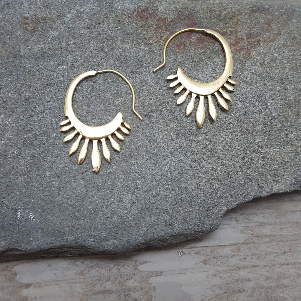 Tail Feather (Shake It) Earrings