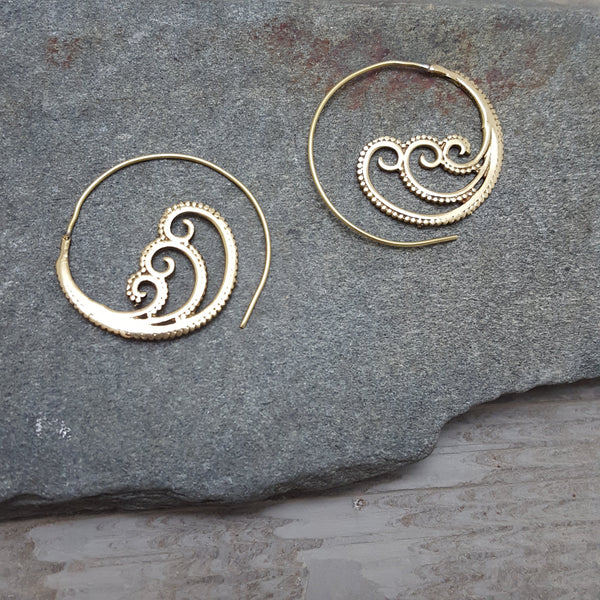 The Wave Earrings