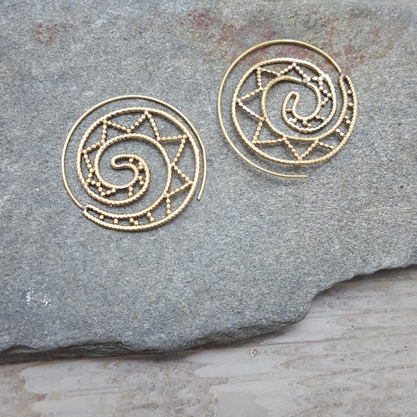 Ween Spiral Earrings