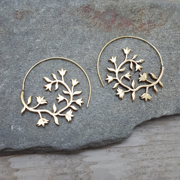 Wood Element Earrings