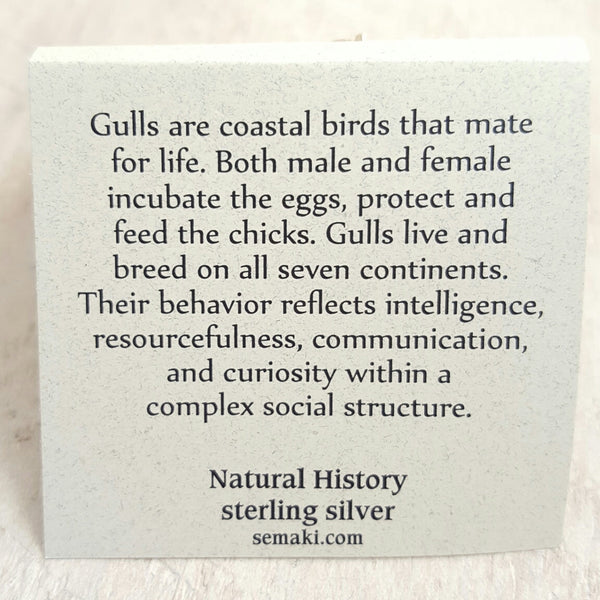 Back of Seagull card