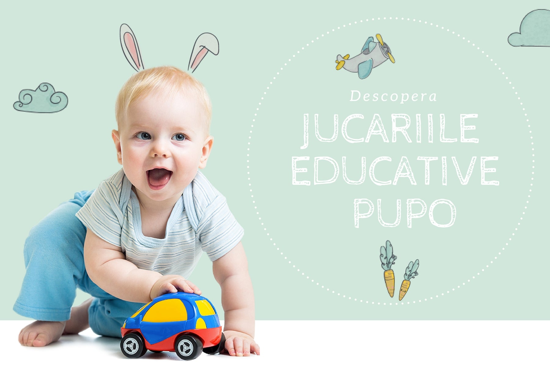 Jucarii educative Pupo