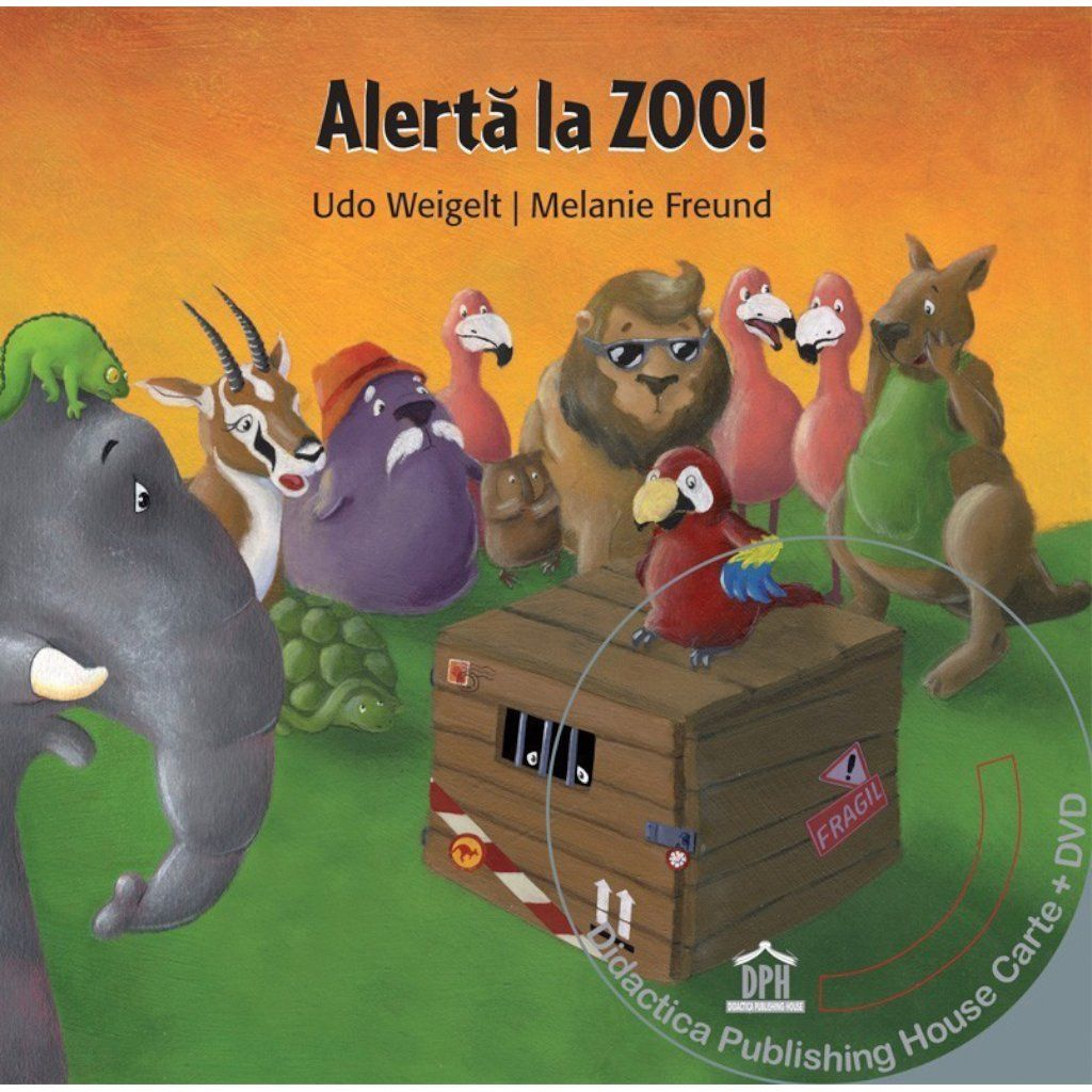 Alerta la Zoo. Carte + DVD