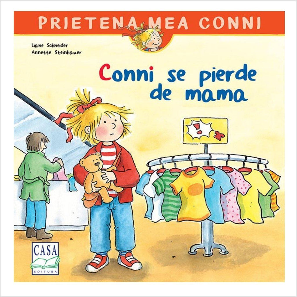 Conni se pierde de mama - jucarii educative si carti educative Pupo