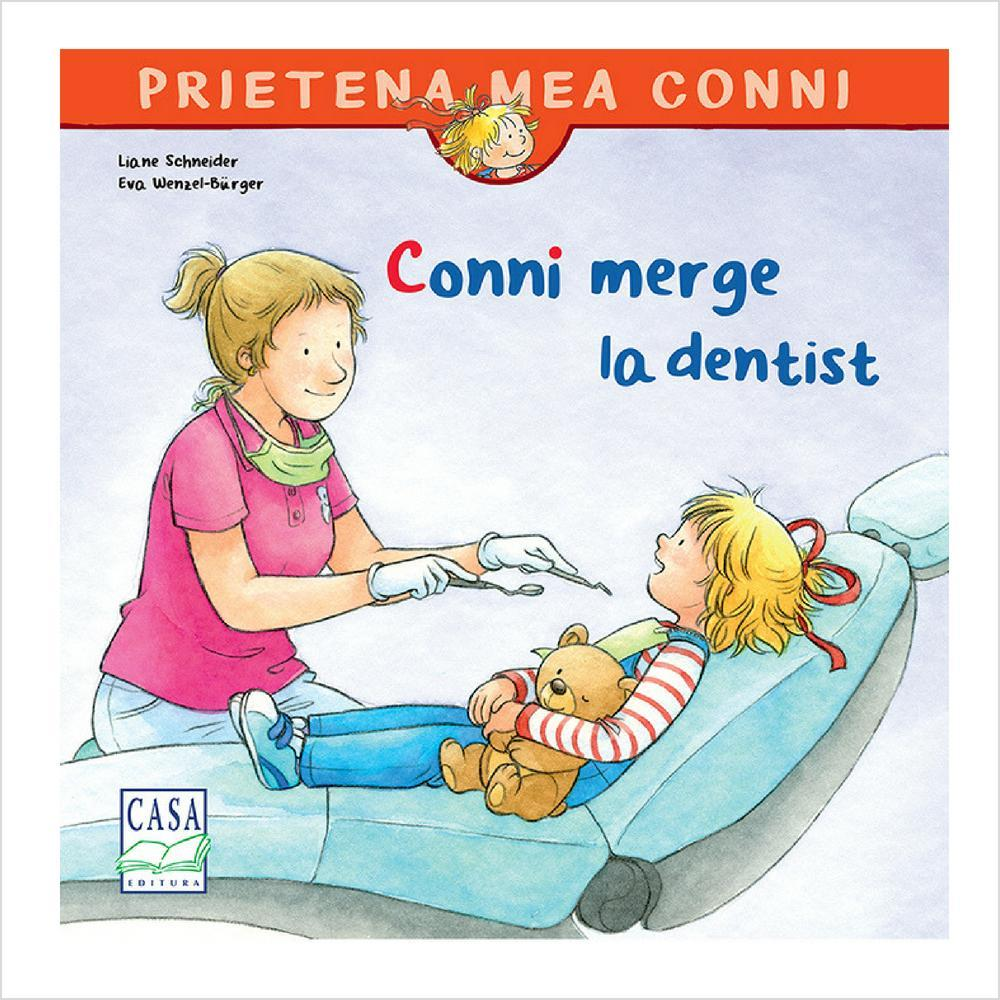 Conni merge la dentist - jucarii educative si carti educative Pupo
