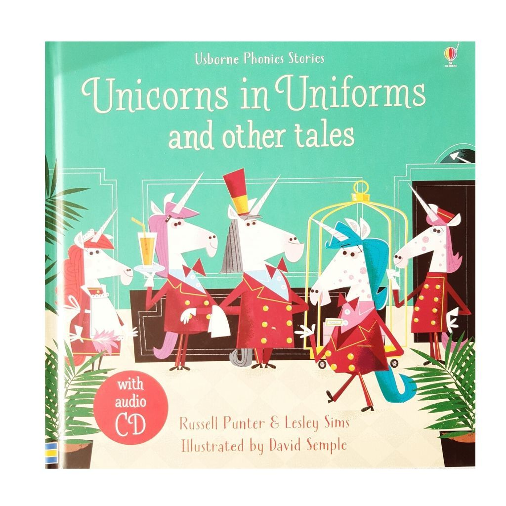 Unicorns in Uniforms and other tales - CD audio inclus