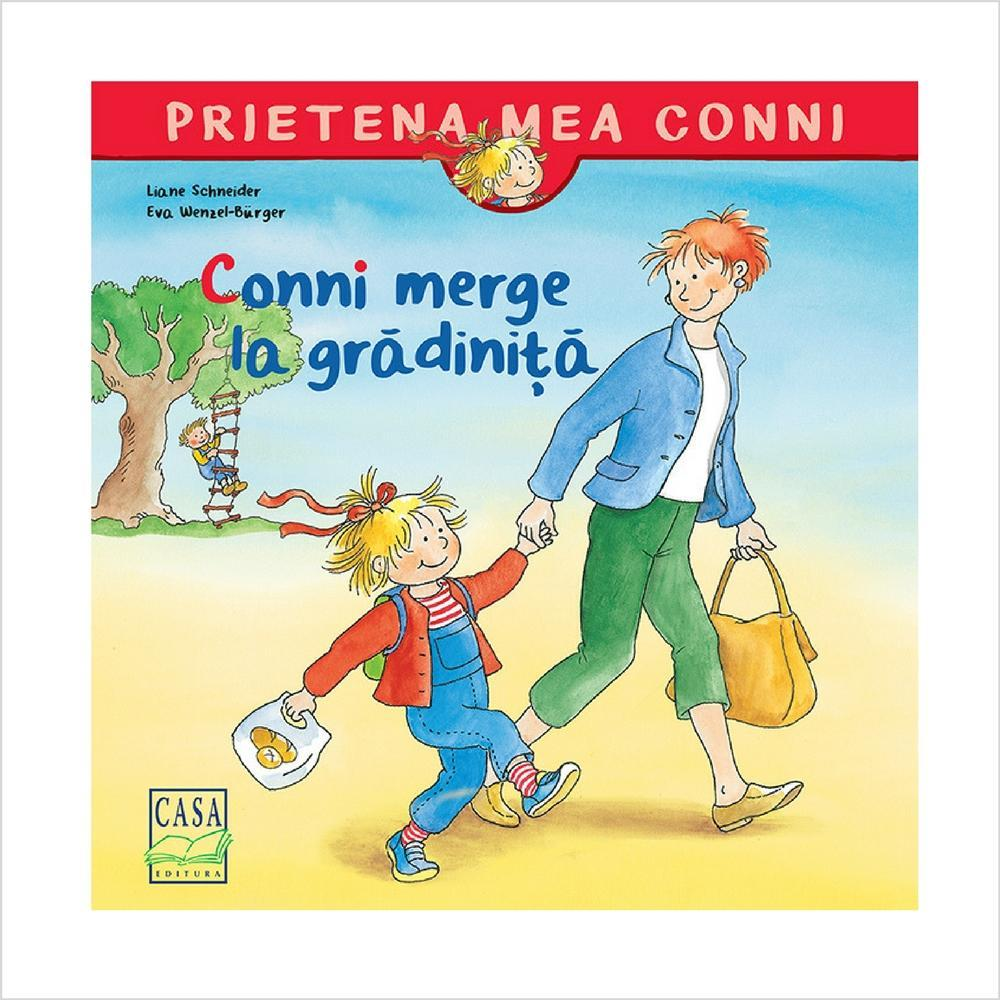Conni merge la gradinita - jucarii educative si carti educative Pupo