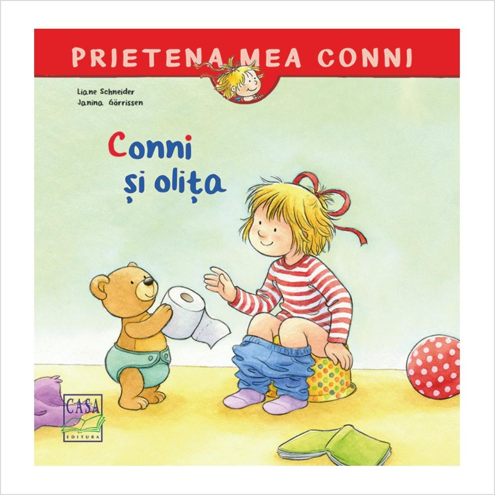Conni si olita - jucarii educative si carti educative Pupo