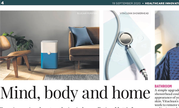 Vitaclean in the Daily Mail 2020: Mind, body and home.