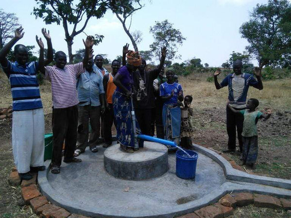 Drop4Drop X Vitaclean build a well in Tanzania
