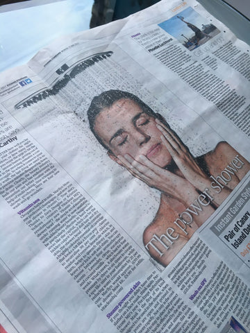 vitaclean hq in the evening standard: the power shower