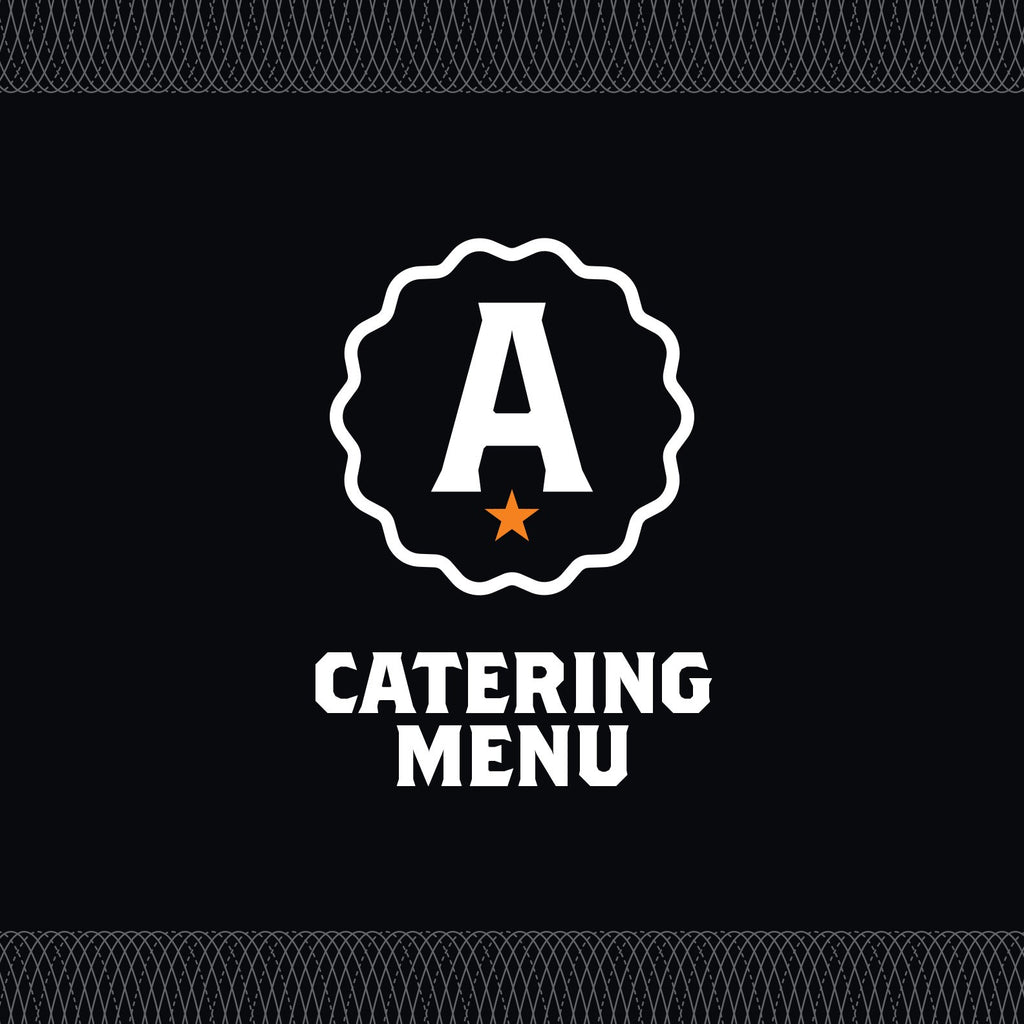 Analog Catering Menu