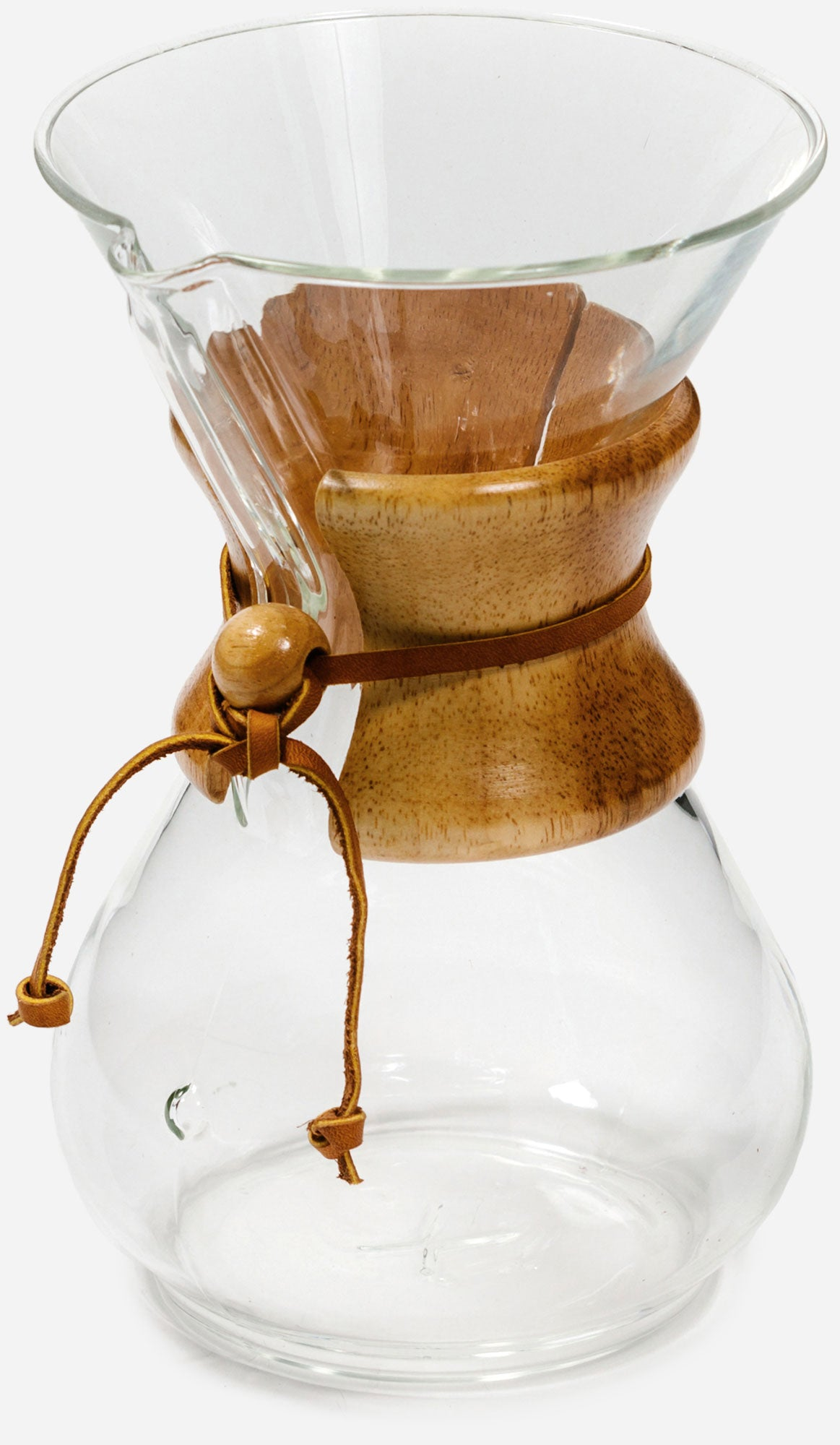 Chemex 6 cup Classic - Glass - Wood Centre