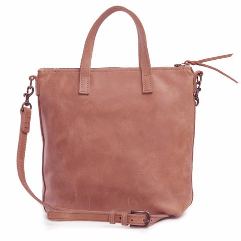 Abera Leather Commuter Dusty Rose