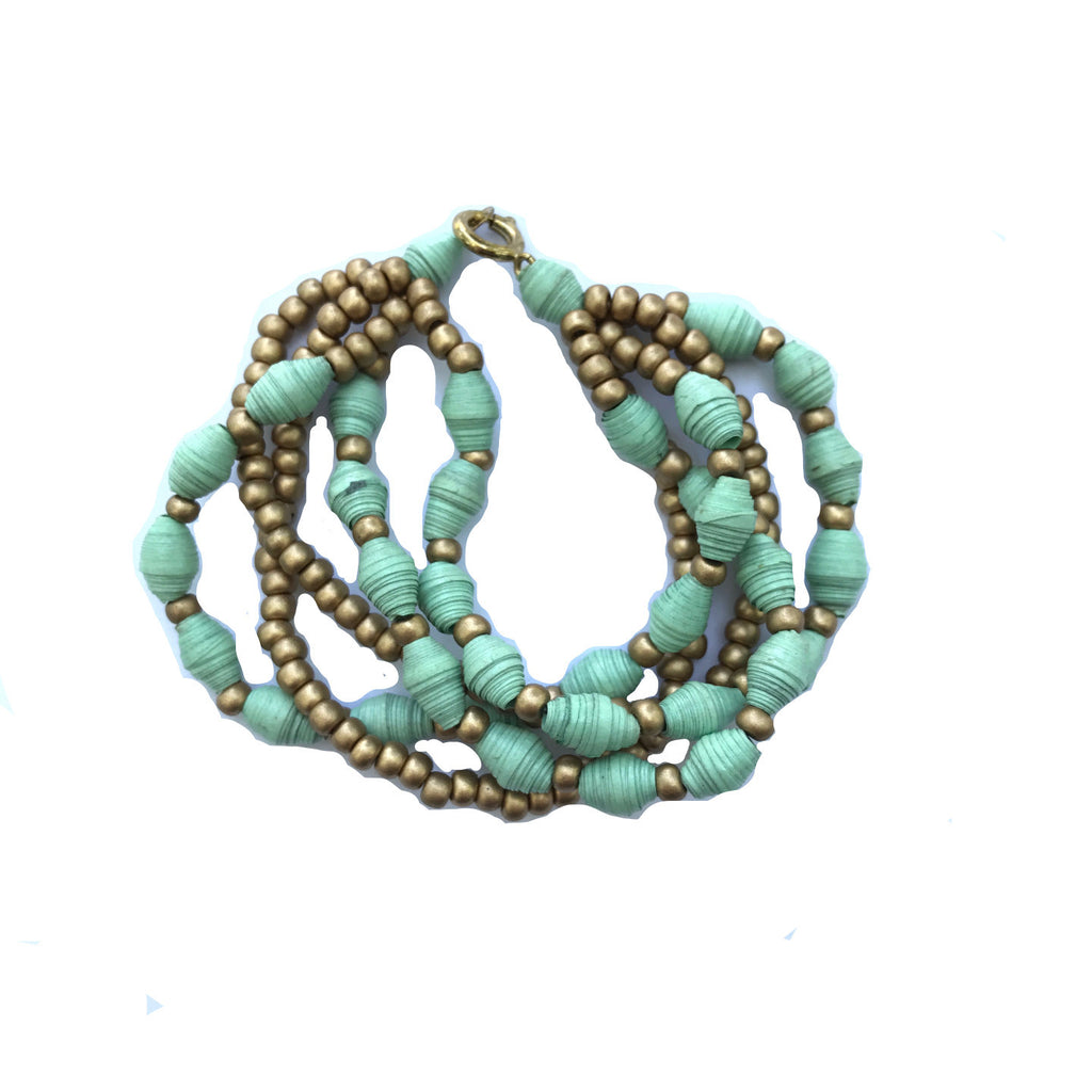 Splendid Strands Mint Bracelet