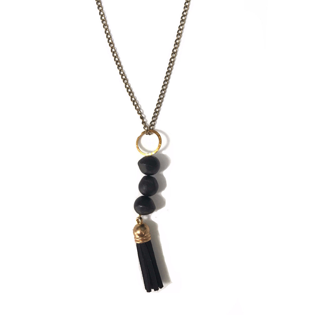 Felicia Necklace Black