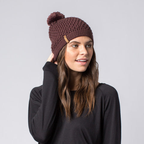 Abby Hat Plum