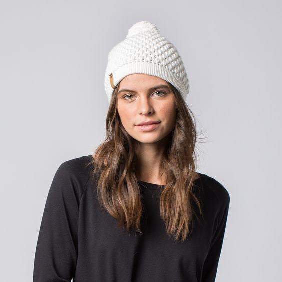 Abby Hat White