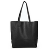 Mamuye Leather Tote Black