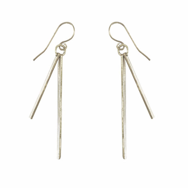 Sierra Earrings Silver