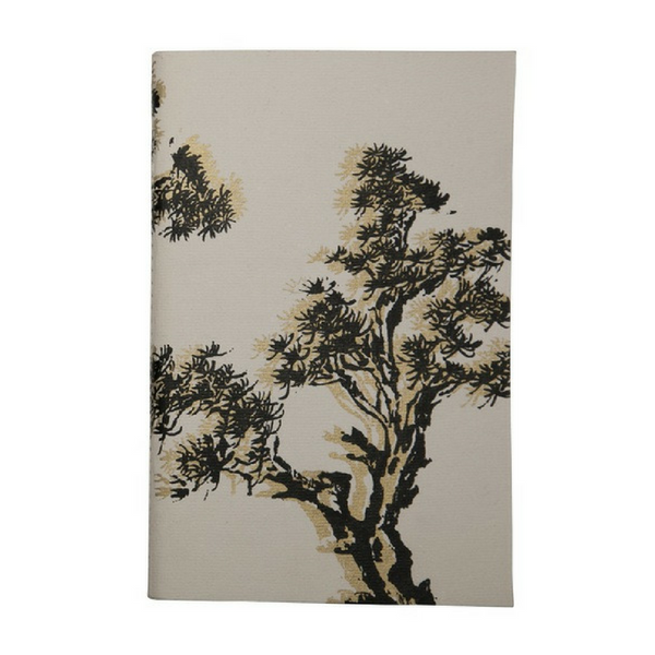 Uzma Recycled Cotton Journal Bonsai Print
