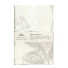Uzma Recycled Cotton Journal Silver Wood Grain