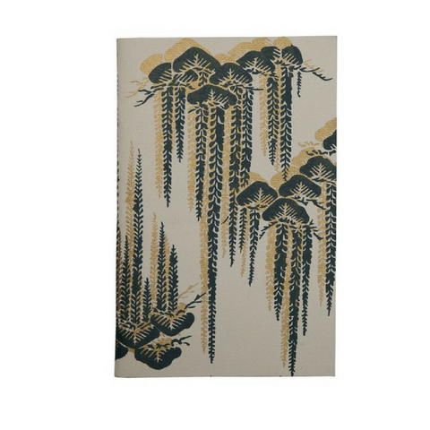 Uzma Recycled Cotton Journal Willow Print