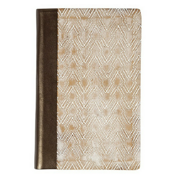 Uzma Wood Journal Arrow + Copper