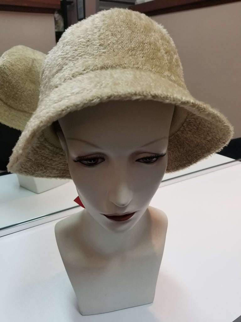 Hat JR Chenille Bucket Camel Color