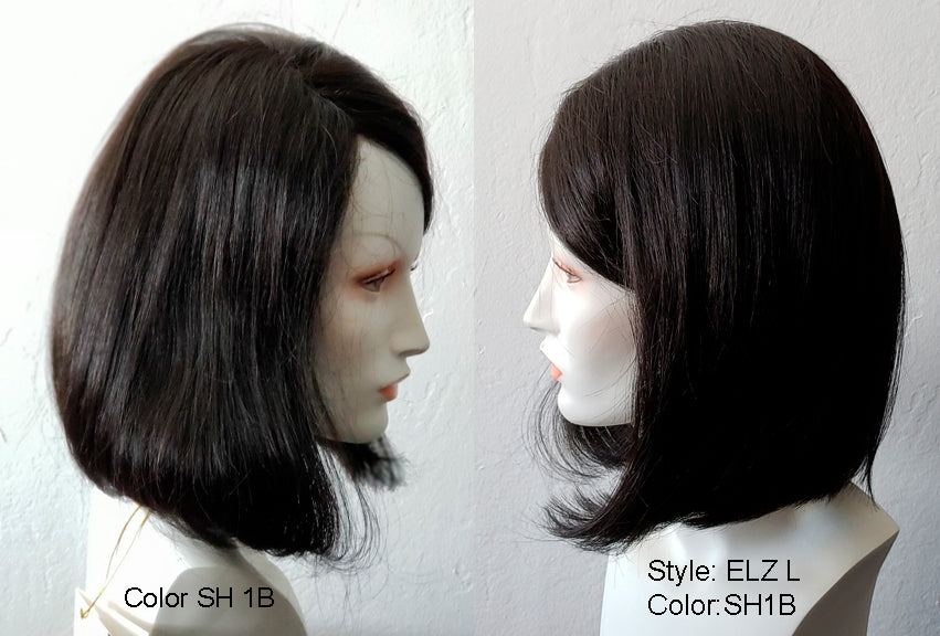 RX ELZL 100% hand-tied full lace front hairline for the ultimate in realism.