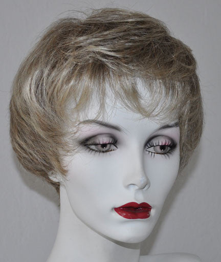 RX ANI 100% Hand tied, Lite Weight, Fine Monofilamant Prosthetic Syn. Fiber Wig