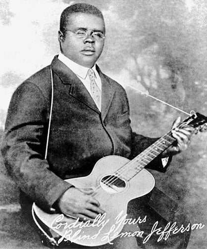 Blind Lemon Jefferson / Sept 24, 1893 - Dec 19, 1929