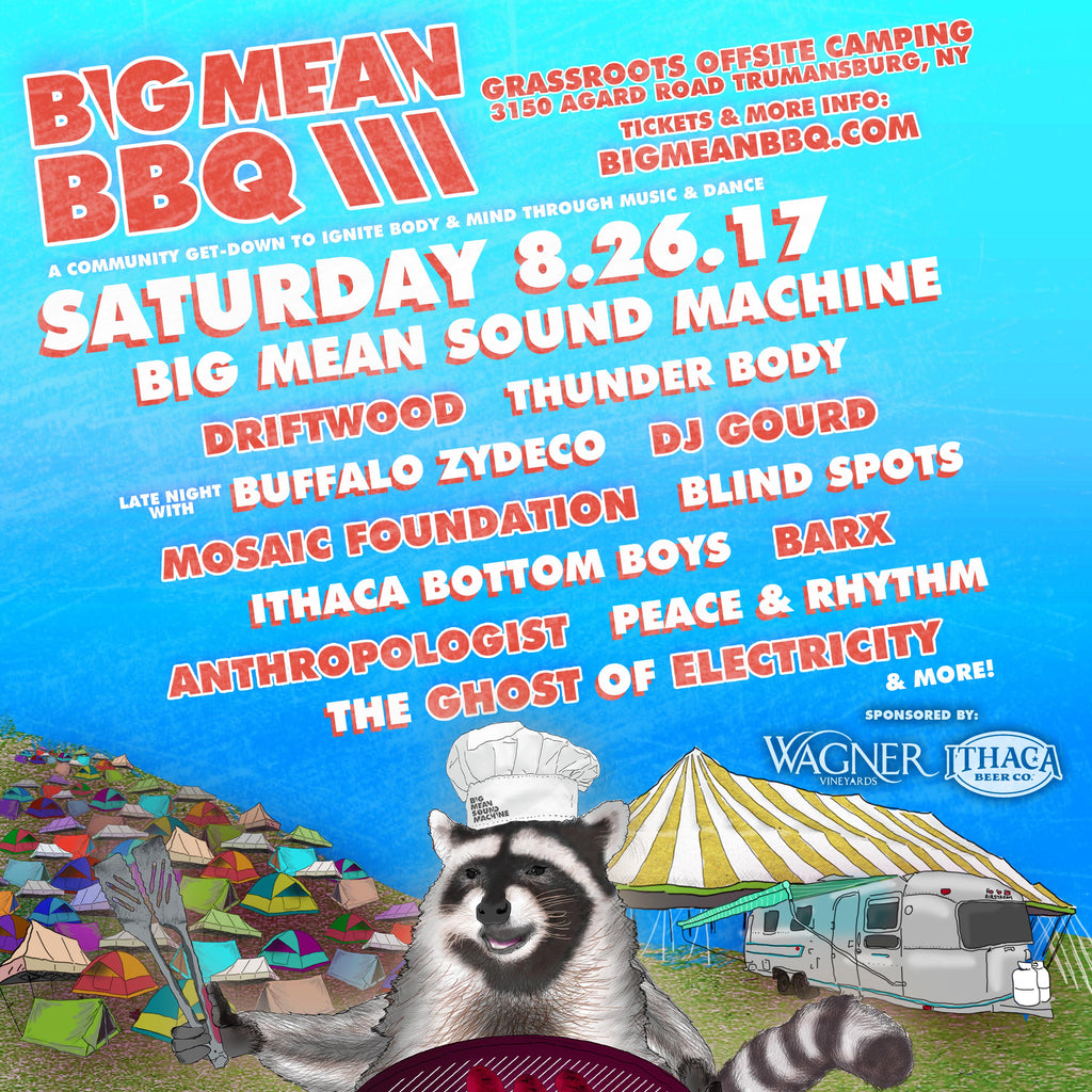 Big Mean Sound Machine: Video Premier & Big Mean BBQ