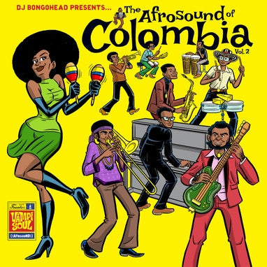 DJ Bongohead Presents:The Afrosound of Colombia vol. 2 compilation 2xLP