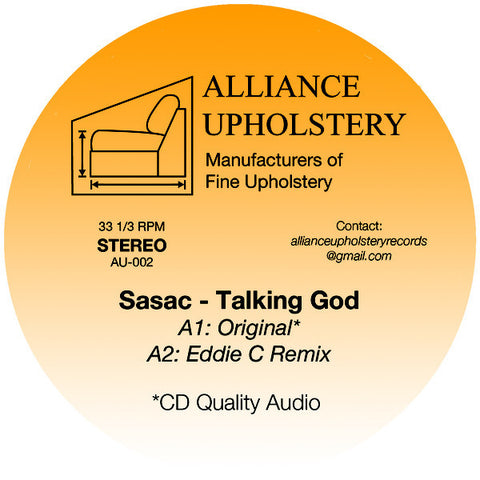 Sasac - Talking God - 12""