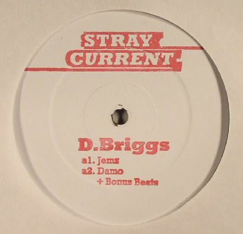 D.Briggs - Let's Get Over - 12""