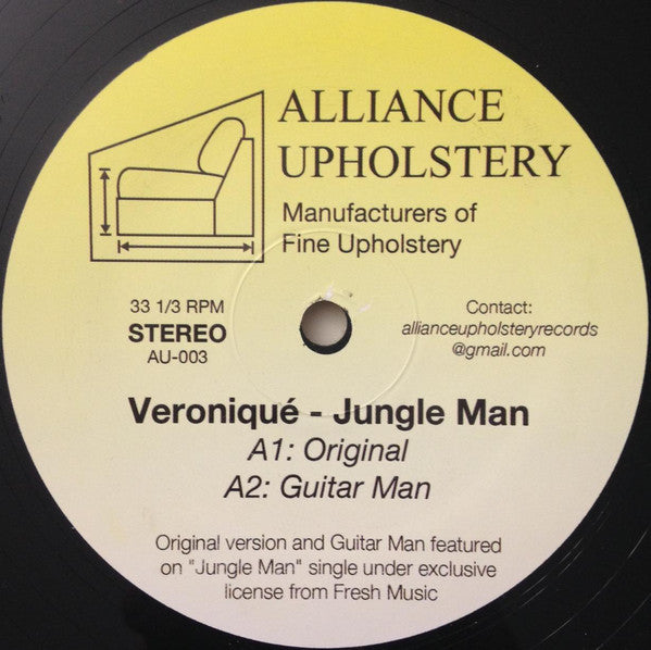 Veroniqué - Jungle Man - 12""