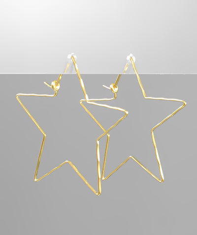 Lightweight star earrings - Sweet as Jelly