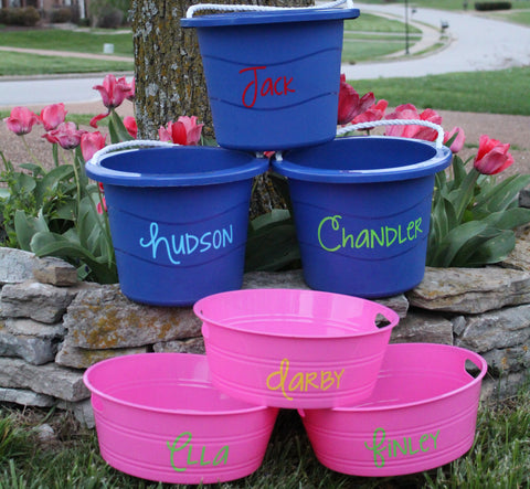 Personalized Buckets - Sweet as Jelly