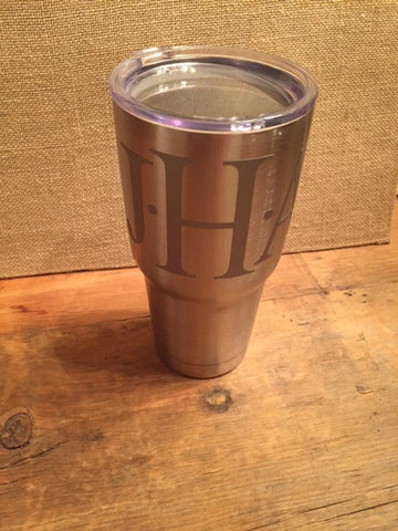 Personalized Stainless Steel Tumbler (30 oz) - Sweet as Jelly