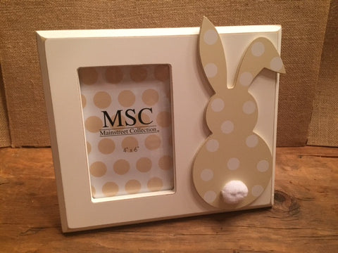 Bunny Rabbit Picture Frame - Personalized - Sweet as Jelly