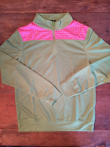 Pink/Lime Pullover - Sweet as Jelly