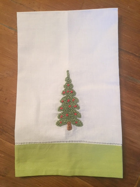 Christmas Tree Hand Towel - Sweet as Jelly